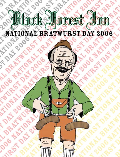 National Bratwurst Day 2006
