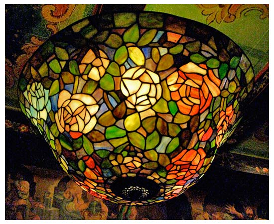 Tiffany light fixture